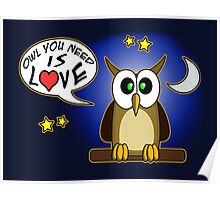 Owl you need is love! Poster