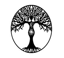 Pagan Goddess Tree by imphavok