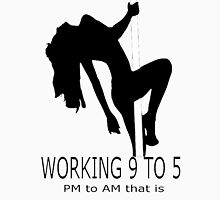 Working 9 To 5 Mens V-Neck T-Shirt