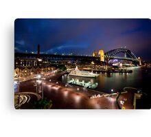 Campbell's Cove Sydney Harbour Canvas Print