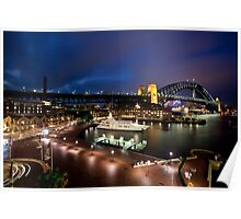Campbell's Cove Sydney Harbour Poster