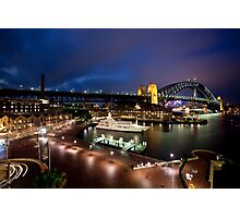 Campbell's Cove Sydney Harbour Photographic Print