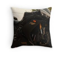 red not black  Throw Pillow
