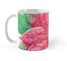 Pretty Poinsettia Mug