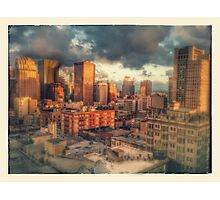 The City Photographic Print