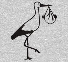 Stork baby birth Kids Clothes