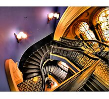"""Watch The FIrst Step - """"The Grand Staircase"""" -Queen Victoria Building - The HDR Experience Photographic Print"""