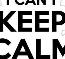 I cant keep calm Im a PSR Sticker