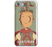 quailman movie poster iPhone Case/Skin