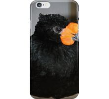 Black And Orange iPhone Case/Skin