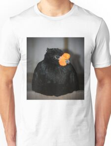 Black And Orange Unisex T-Shirt