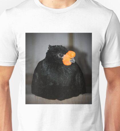 Black And Orange Unisex T-Shirt