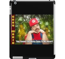 SexyMario MEME - You Found The Warp Zone To My Heart 1 iPad Case/Skin