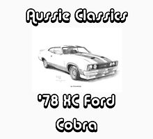 78 Ford XC Cobra - Aussie Classics (Black Text) Unisex T-Shirt