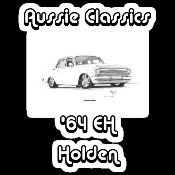 64 EH Holden - Aussie Classics by Joseph Colella