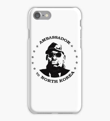 Dennis Rodman Ambassador iPhone Case/Skin