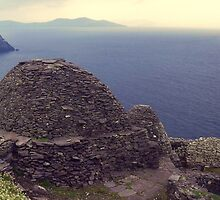 View from the Skelligs, Ireland. by Peter Stephenson