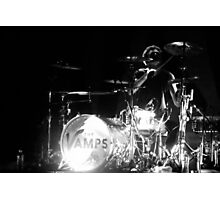 Tristan Evans of The Vamps Photographic Print