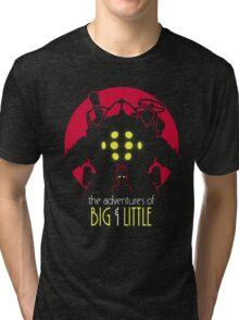 The Adventures of Big & Little Tri-blend T-Shirt