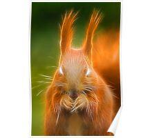 Demon Squirrel Poster