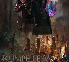 """Rumbelle Wars """"Go Vote"""" by imagineer7"""