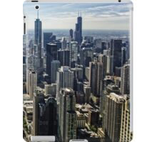 A Misty Morning in Chicago, Illinois, USA iPad Case/Skin