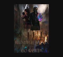 "Rumbelle Wars ""Go Vote"" Unisex T-Shirt"