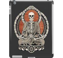 Skeleton Buddha iPad Case/Skin