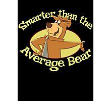 Yogi Bear Smarter Than The Average Bear Photographic Print