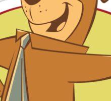 Yogi Bear Smarter Than The Average Bear Sticker