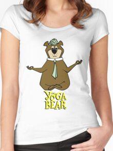 Yogi Bear Yoga Women's Fitted Scoop T-Shirt