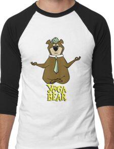 Yogi Bear Yoga Men's Baseball ¾ T-Shirt