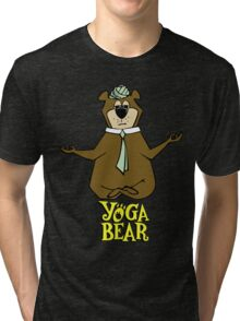 Yogi Bear Yoga Tri-blend T-Shirt