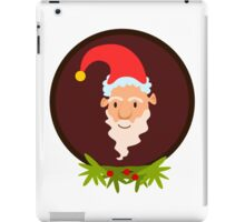 Christmas Santa Claus Vector Design iPad Case/Skin