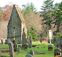 St Machans church, Clachan of Campsie by Stuart  Fellowes