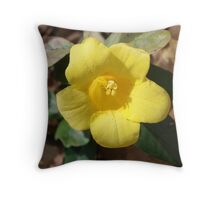 Carolina Jessamine Throw Pillow