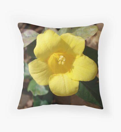 Carolina Jessamine Throw Pillow