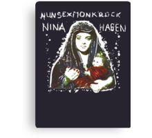 Nina Hagen - Nunsexmonkrock Canvas Print