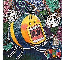 Graffiti Bee Photographic Print