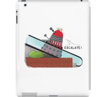 Why you can't take a Dalek shopping iPad Case/Skin