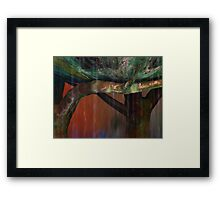 Patina Wash Framed Print