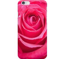 Deep Pink Rose Flower Bloom iPhone Case/Skin