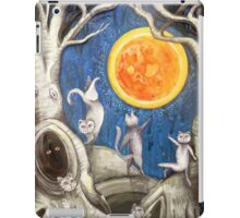 they dance under the light of the moon paper cut iPad Case/Skin
