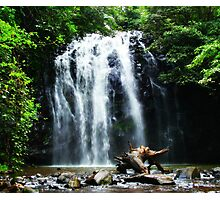 Tropical North Queensland Waterfall Photographic Print
