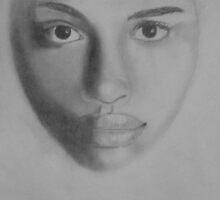 Female face by Teresa Richards
