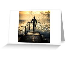 Hit the water Greeting Card