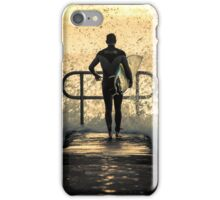 Hit the water iPhone Case/Skin