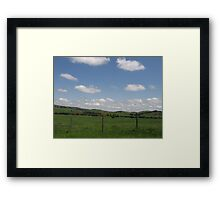 Country Landscape Framed Print