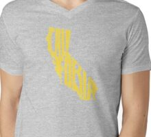 California Mens V-Neck T-Shirt