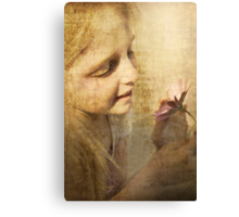 For The Love Of Flowers Canvas Print